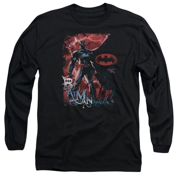 Batman Gotham Reign Long Sleeve Adult T-Shirt
