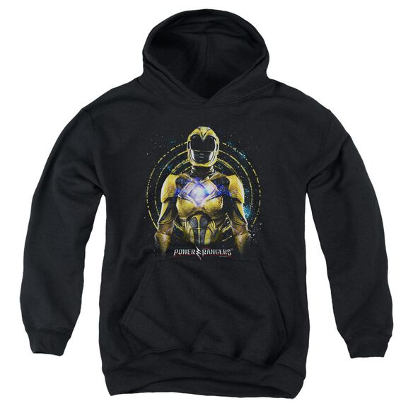 Power Rangers Yellow Ranger Youth Pull Over Hoodie