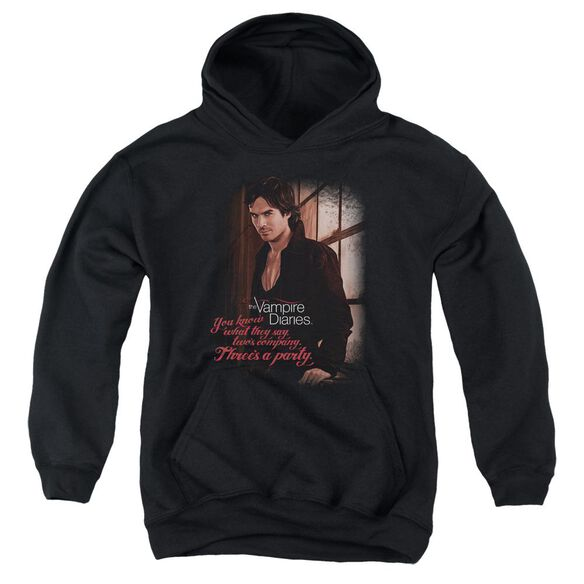 Vampire Diaries Threes A Party Youth Pull Over Hoodie
