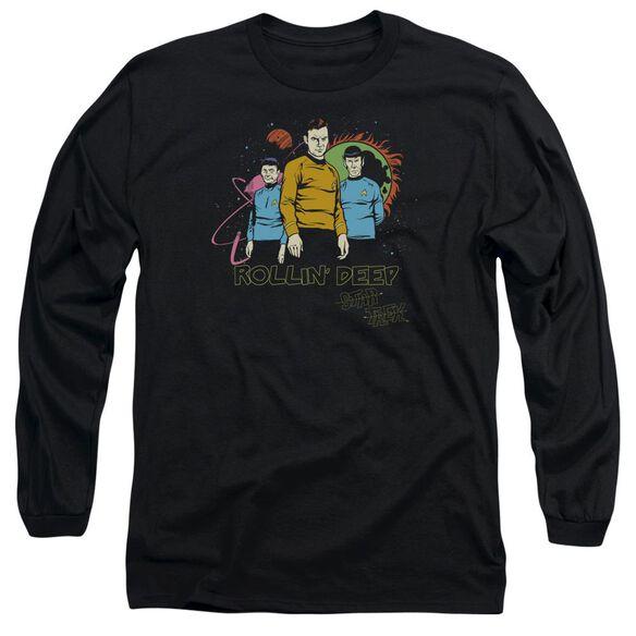 Star Trek Rollin Deep Long Sleeve Adult T-Shirt