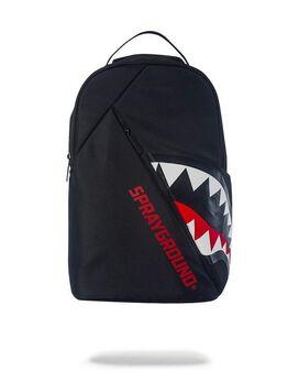 Sprayground Angled Ghost Shark Backpack
