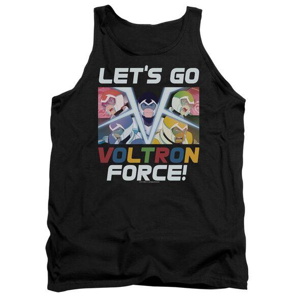 Voltron Lets Go Adult Tank