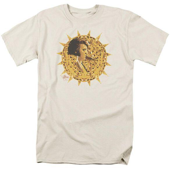 Elvis Sundial Short Sleeve Adult Cream T-Shirt