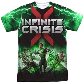 Infinite Crisis Ic Green Lantern Short Sleeve Adult Poly Crew T-Shirt