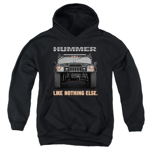 Hummer Like Nothing Else Youth Pull Over Hoodie