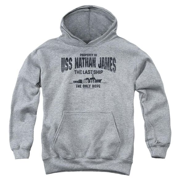 Last Ship Uss Nathan James Youth Pull Over Hoodie Athletic