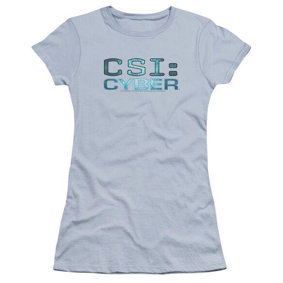 Csi: Cyber Cyber Logo Premium Bella Junior Sheer Jersey Light