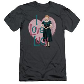 I Love Lucy Heart You Short Sleeve Adult T-Shirt