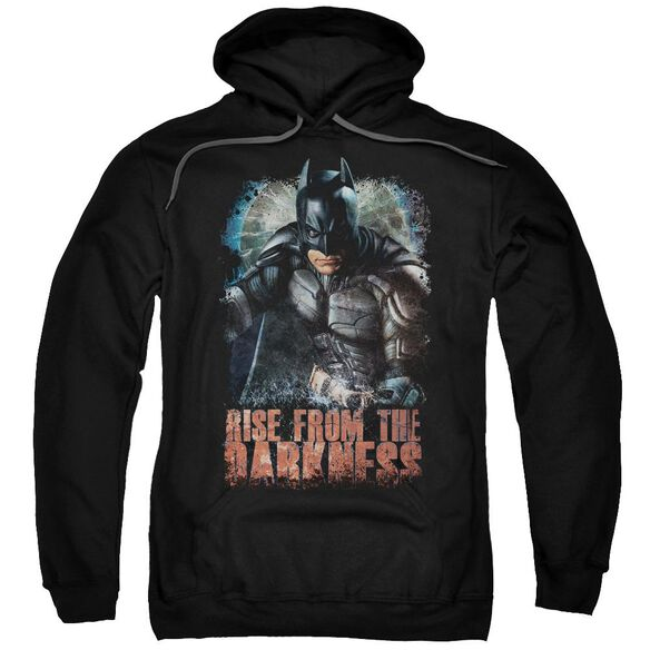 Dark Knight Rises Rise From Darkness Adult Pull Over Hoodie