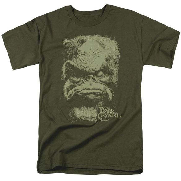 Dark Crystal Aughra Short Sleeve Adult Military T-Shirt