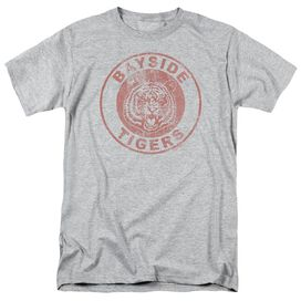Saved By The Bell Tigers Short Sleeve Adult Athletic Heather T-Shirt