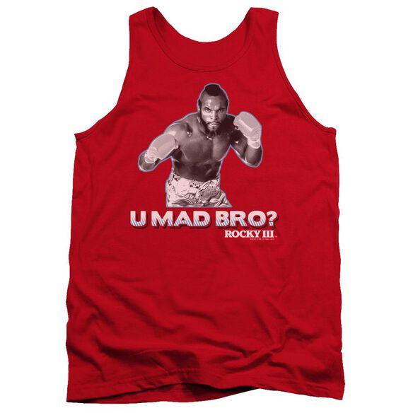 Rocky Iii U Mad Bro Adult Tank