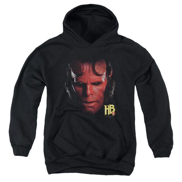Hellboy Ii Hellboy Head Youth Pull Over Hoodie
