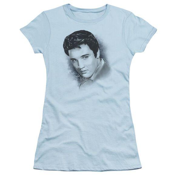 ELVIS PRESLEY DREAMY - S/S JUNIOR SHEER - LIGHT BLUE T-Shirt