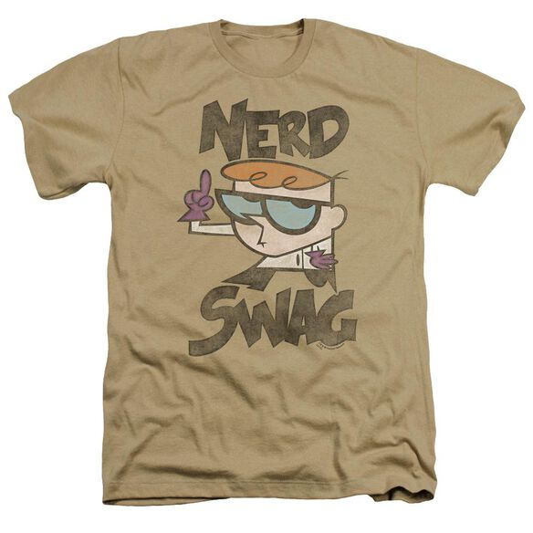Dexter's Laboratory Nerd Swag Adult Heather