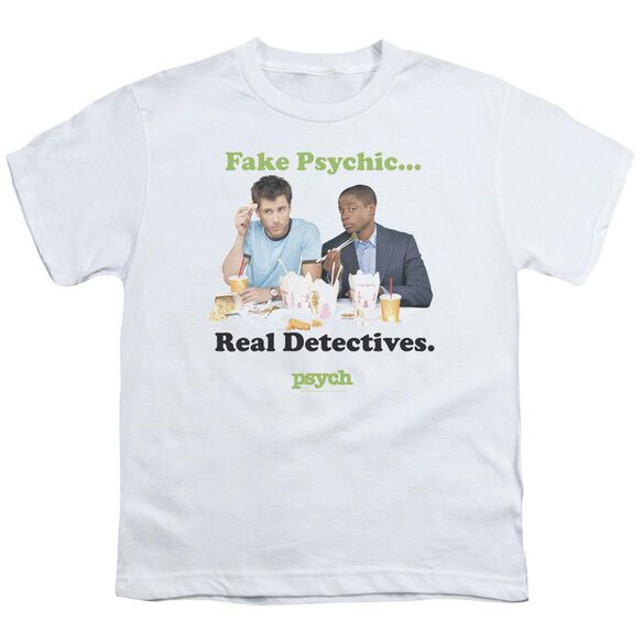 Psych Take Out Short Sleeve Youth T-Shirt