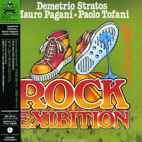 Demetrio Stratos - Rock & Roll Exibition