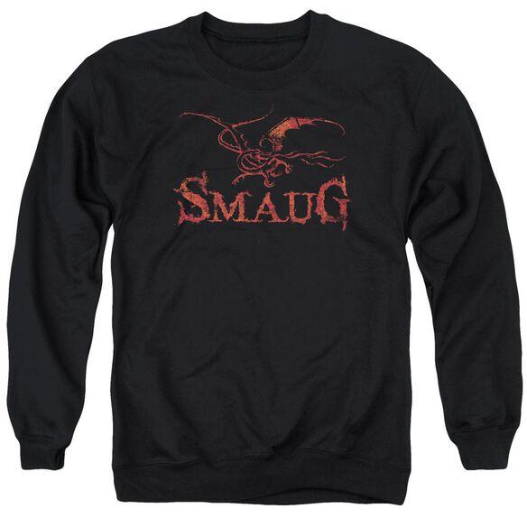 Hobbit Dragon Adult Crewneck Sweatshirt