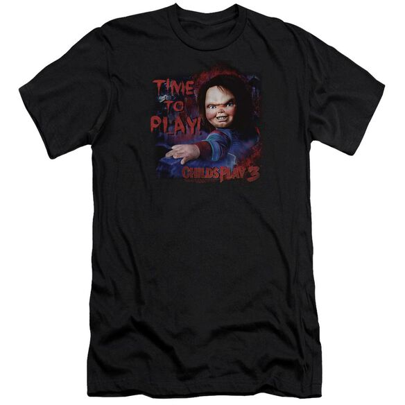Childs Play 3 Time To Play Premuim Canvas Adult Slim Fit