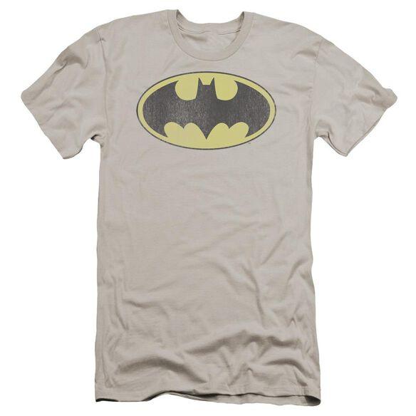 DC BATMAN RETRO BAT LOGO DISTRESSED-HBO S/S T-Shirt