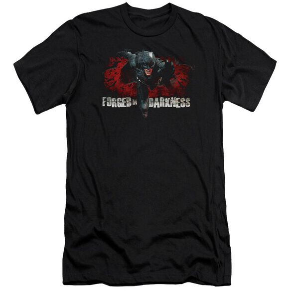 Dark Knight Rises Forged In Darkness Short Sleeve Adult T-Shirt