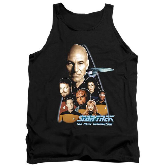 Star Trek The Next Generation - Adult Tank - Black