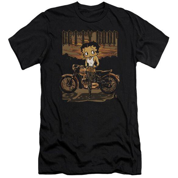 Betty Boop Rebel Rider Short Sleeve Adult T-Shirt