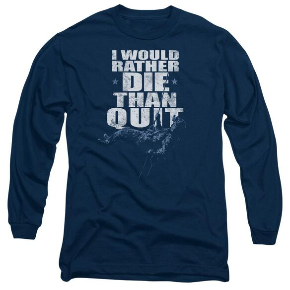 Six No Quitting Long Sleeve Adult T-Shirt