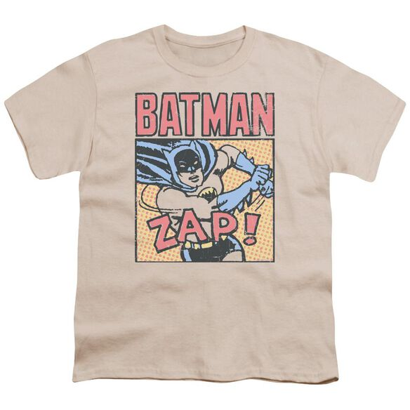 Batman Bat Zap Short Sleeve Youth T-Shirt