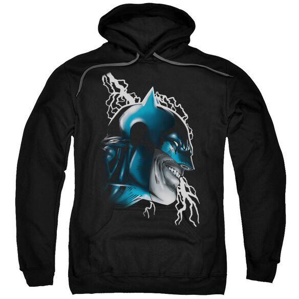 Batman Crazy Grin Adult Pull Over Hoodie