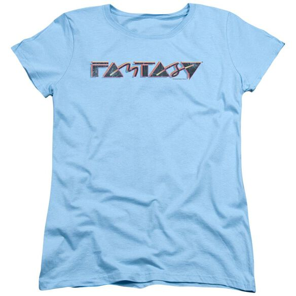 Fantasy Fantasy 80 S Short Sleeve Womens Tee Light T-Shirt