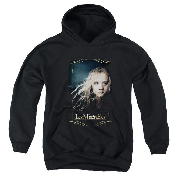 Les Miserables Cosette Youth Pull Over Hoodie