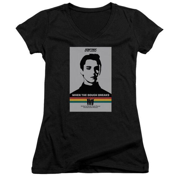 Star Trek Tng Season 1 Episode 17 Junior V Neck T-Shirt
