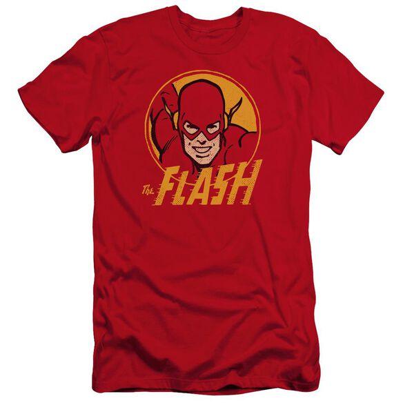 Dc Flash Flash Circle Premuim Canvas Adult Slim Fit