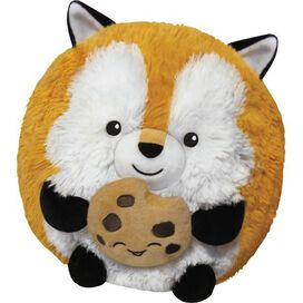 Mini Squishable Fox Holding a Cookie