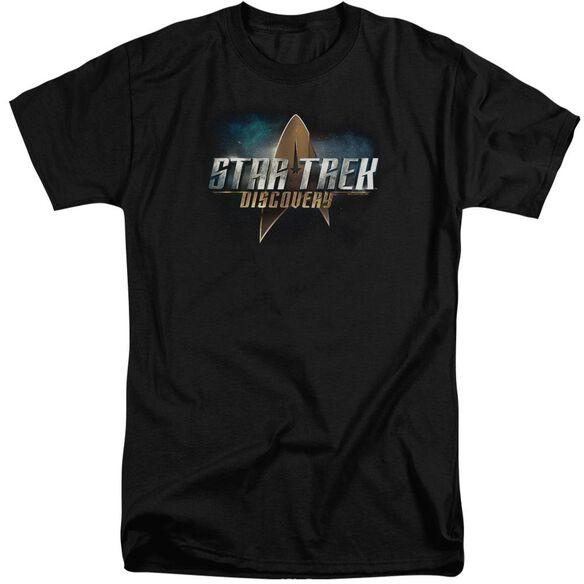 Star Trek Discovery Discovery Logo Short Sleeve Adult Tall T-Shirt