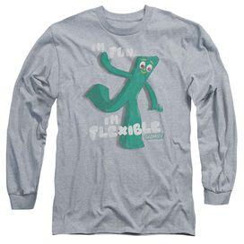 Gumby Flex Long Sleeve Adult Athletic T-Shirt