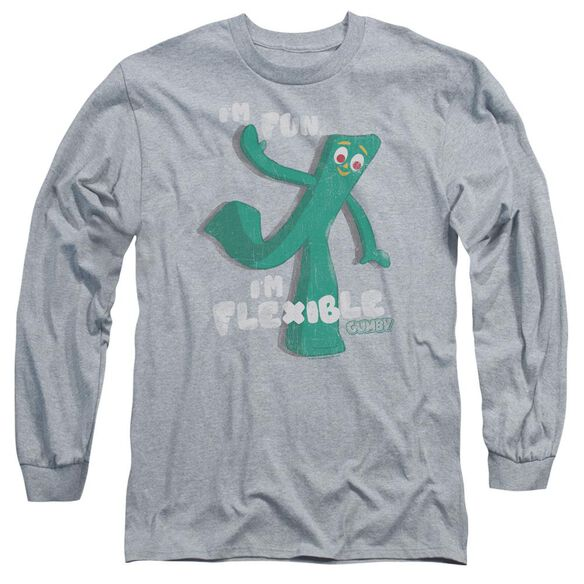 Gumby Flex Long Sleeve Adult Athletic T-Shirt
