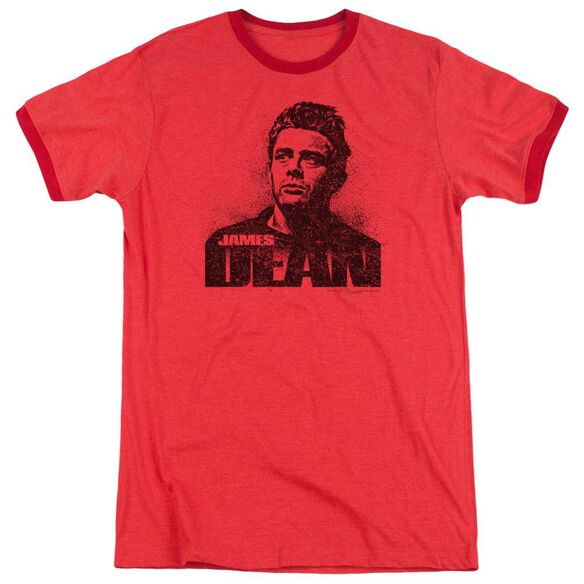 Dean Dean Graffiti Adult Heather Ringer Red