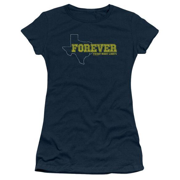 Friday Night Lights Texas Forever Short Sleeve Junior Sheer T-Shirt