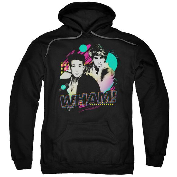 Wham The Edge Of Heaven Adult Pull Over Hoodie