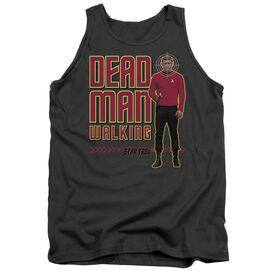 STAR TREK DEAD MAN WALKING - ADULT TANK - CHARCOAL