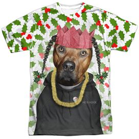 Pets Rock Rapping Paper Short Sleeve Adult Poly Crew T-Shirt