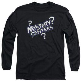 DUBBLE BUBBLE MYSTERY CENTERS - L/S ADULT 18/1 - BLACK T-Shirt
