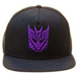 Transformers Decepticon Fiber Optic Lights Hat