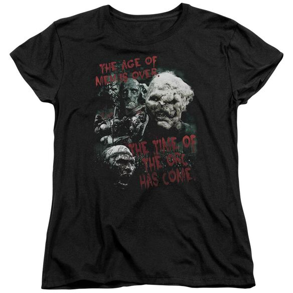 Lor Time Of The Orc Short Sleeve Womens Tee T-Shirt
