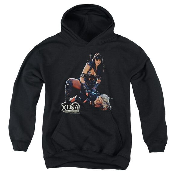 Xena In Control Youth Pull Over Hoodie
