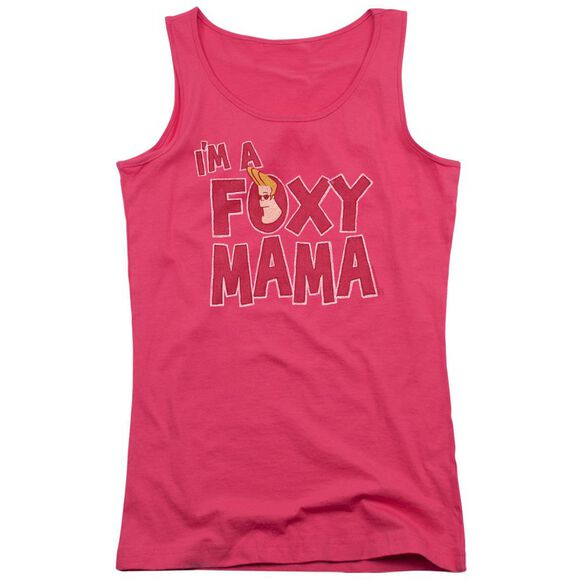 Johnny Bravo Foxy Mama Juniors Tank Top Hot