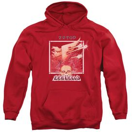Zz Top Deguello Cover Adult Pull Over Hoodie