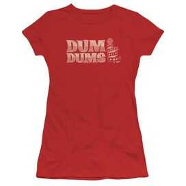 Dum Dums World's Best Short Sleeve Junior Sheer T-Shirt